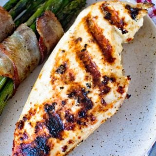 Caesar Grilled Chicken Breasts