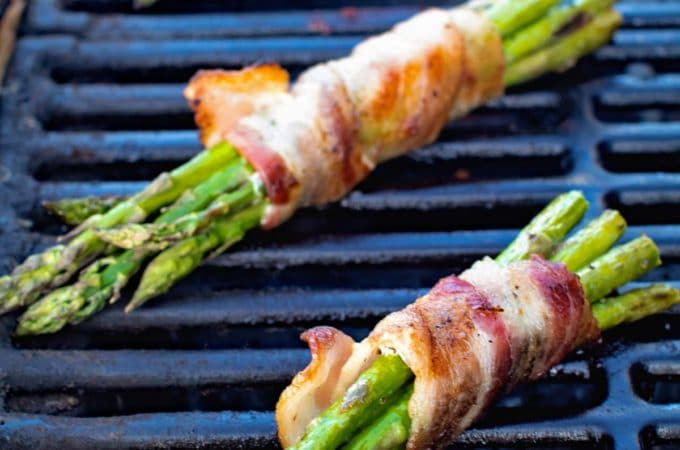 Grilled Bacon Wrapped Asparagus + Video