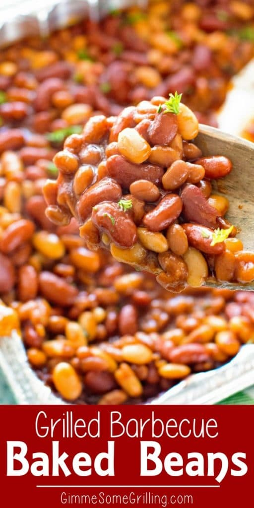 baked beans on the grill