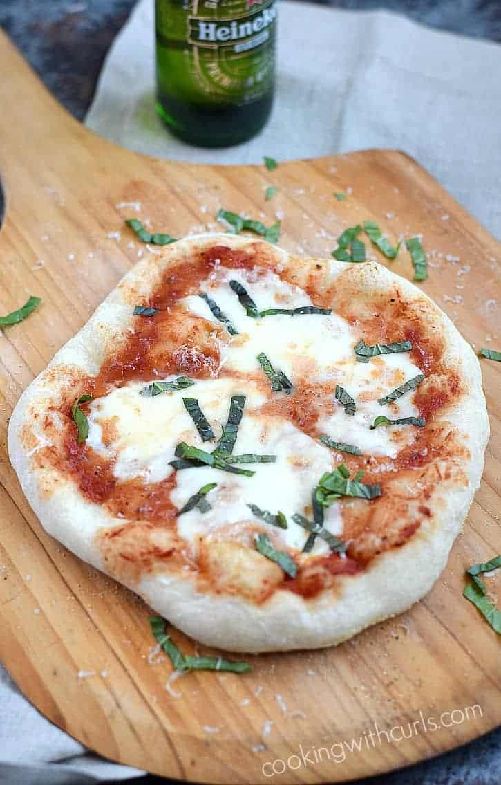 Grilled Pizza Marherita