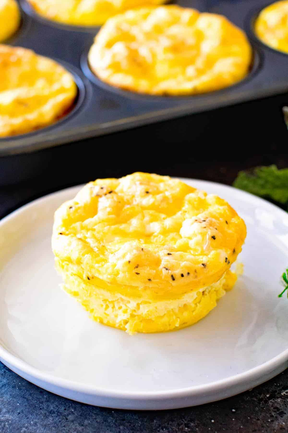 Egg Muffins on the Grill
