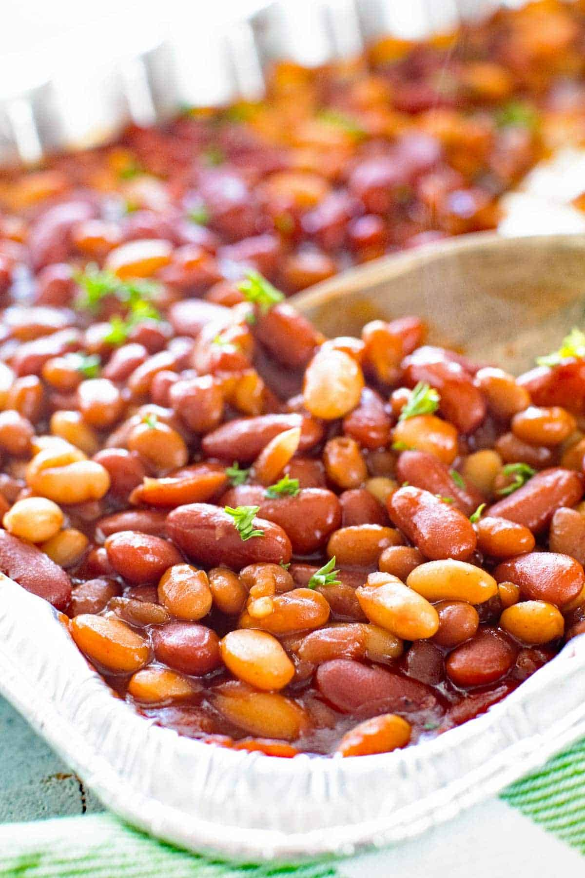 BBQ Baked Beans On the Grill