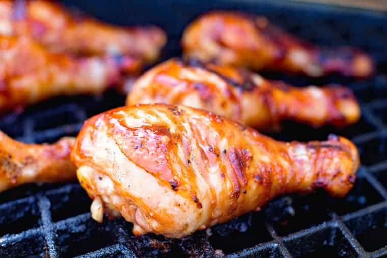 Grilled Bbq Chicken Drumsticks Gimme Some Grilling