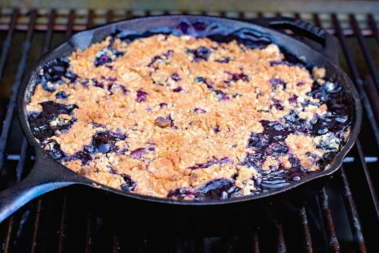 Cobbler on Grill