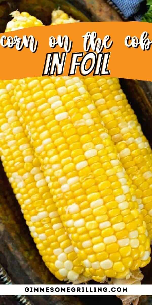 Make your corn on the cob in foil! Simply season with salt, slather with a little butter then wrap it up in foil. You can either bake it in the oven or grill it. It's the perfect summer side dish to enjoy. #corn #grilled via @gimmesomegrilling