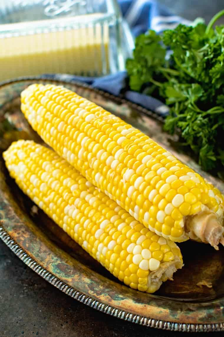 Grilled Corn on the Cob in Foil + VIDEO