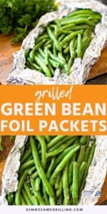 GRILLED GREEN BEANS Pins