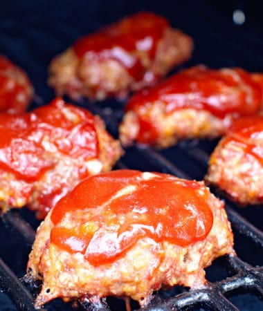 Mini Smoked Meatloaf