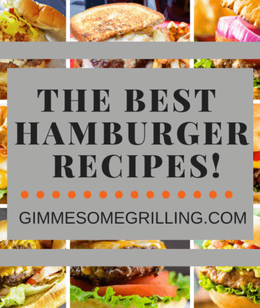 The BEST Hamburger Recipes!