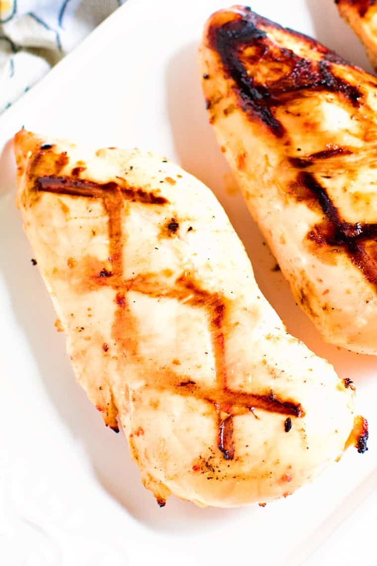 Italian Grilled Chicken Breasts