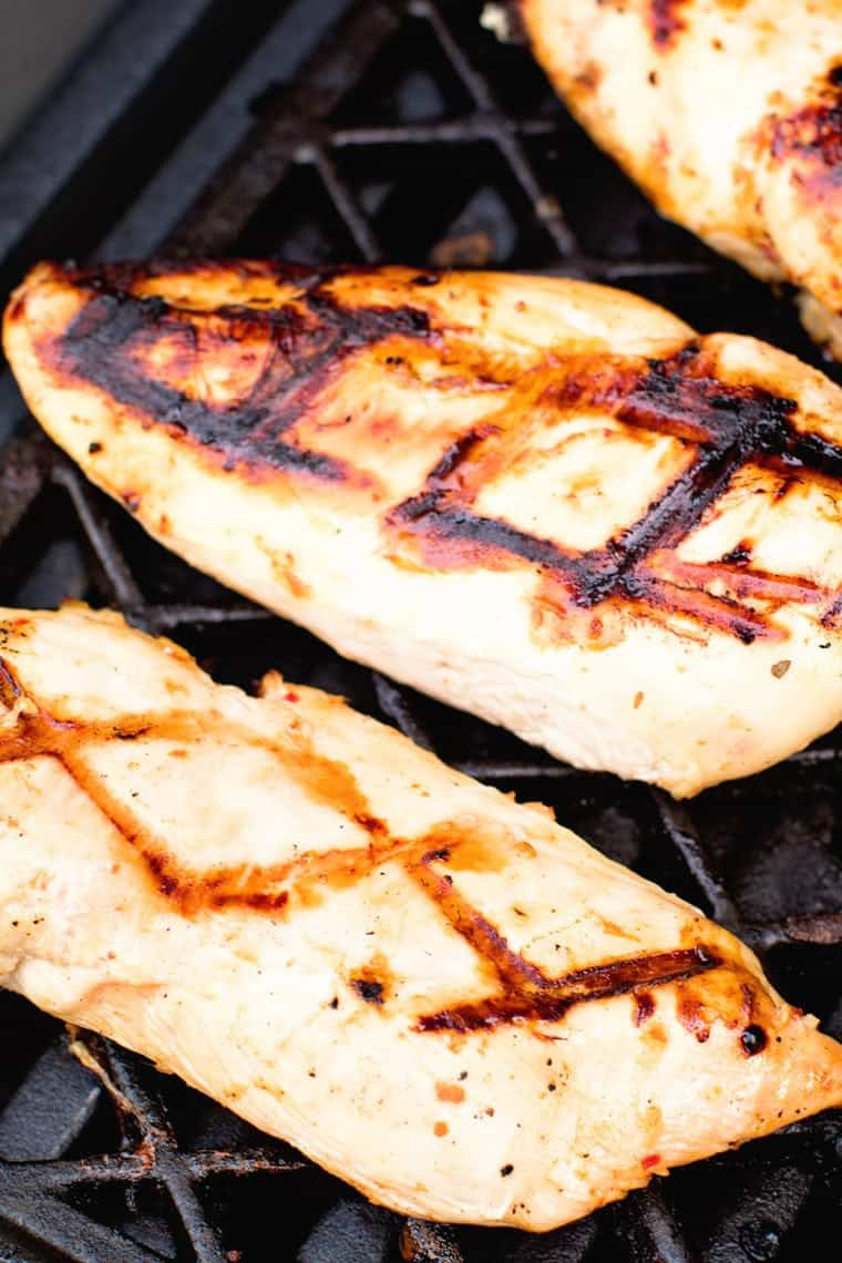 Marinated Italian Grilled Chicken Breasts