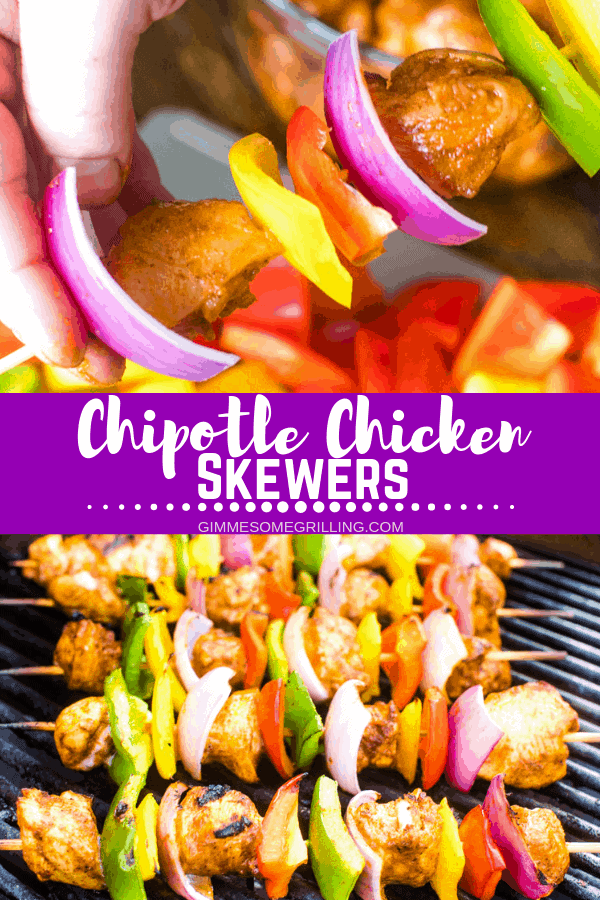 Chipotle Chicken Skewers Pinterest 1