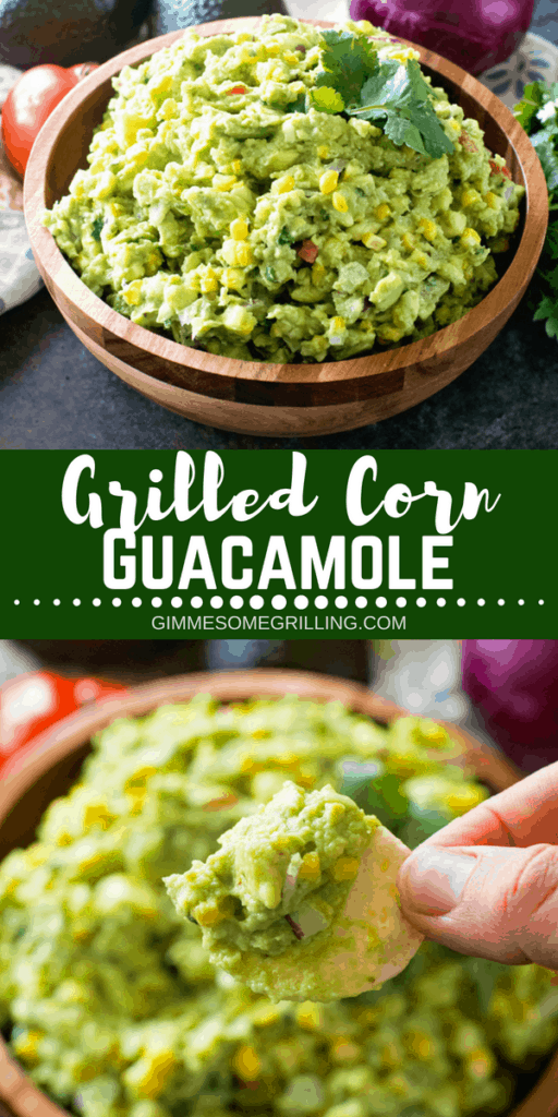 Grilled Corn Guacamole Pinterest Image 1