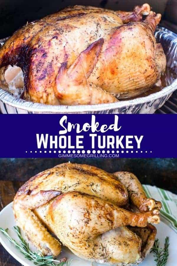 Smoked Turkey Pinterest Image