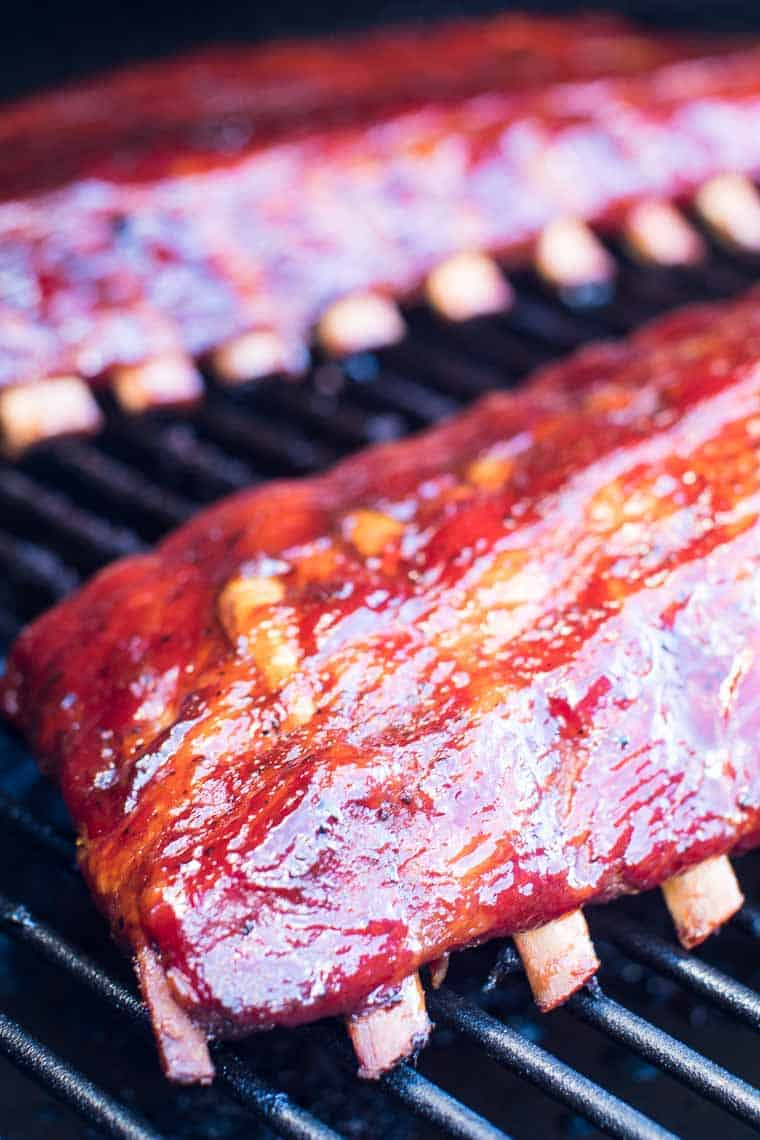Smoked Ribs on Traeger