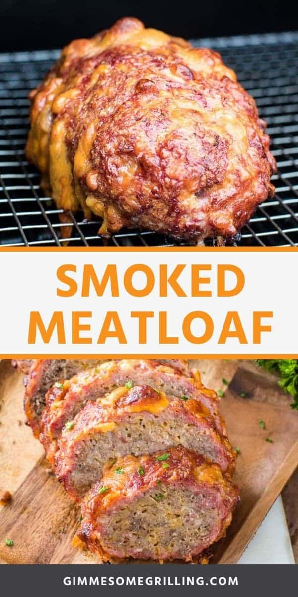 The BEST Meatloaf ever on your smoker! This Smoked Meatloaf is so easy to make anyone can make it even if you are a beginner. It's tender, juicy and packed with flavor. It's the only way you'll make meatloaf for dinner. #meatloaf #smoked via @gimmesomegrilling