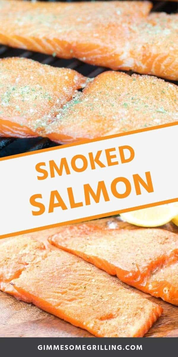 Smoked salmon is absolutely delicious and starts with an easy overnight brine. Make this easy Traeger Smoked Salmon for dinner tonight. It's full of flavor and so easy. Learn how to smoke the perfect salmon on an electric smoker in easy to follow step-by-step instructions. The BEST salmon ever! #salmon #smoked via @gimmesomegrilling