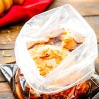 Teriyaki chicken Marinade recipe in bag