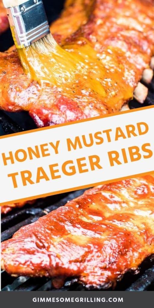 traeger ribs with honey mustard sauce Pins