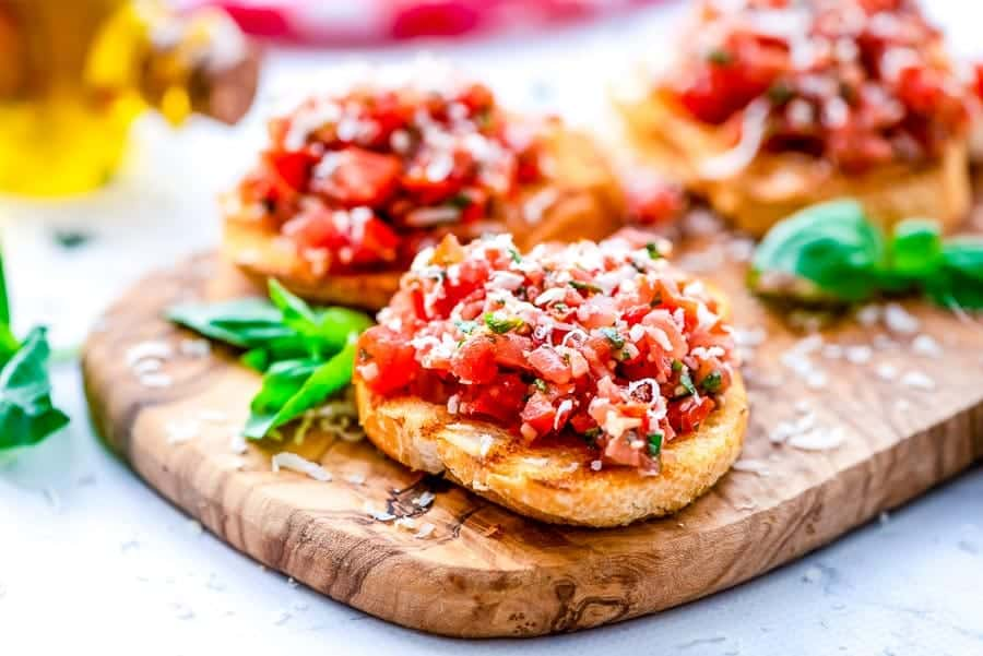 Piece of Bruschetta Recipe
