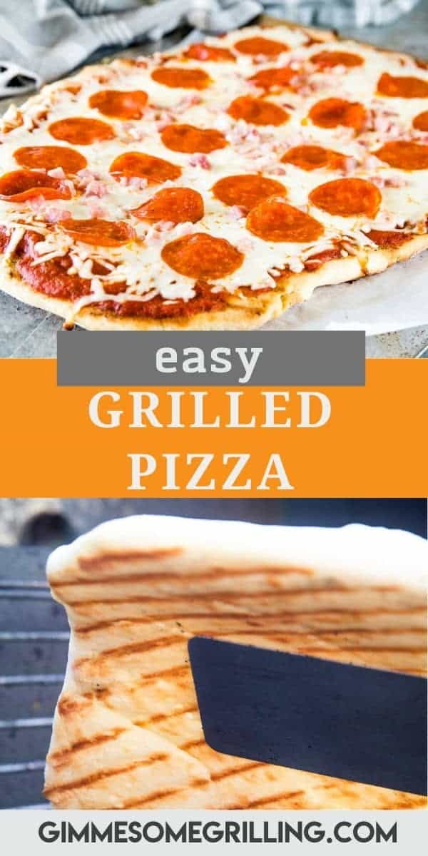 Love a crispy, chewy pizza crust? Tips and tricks on how to make the BEST Grilled Pizza with that perfect crust. It's quicker and easier than you ever thought. Grab your pizza dough and favorite pizza toppings and make this tonight. The flavor combinations are endless! #grilled #pizza via @gimmesomegrilling