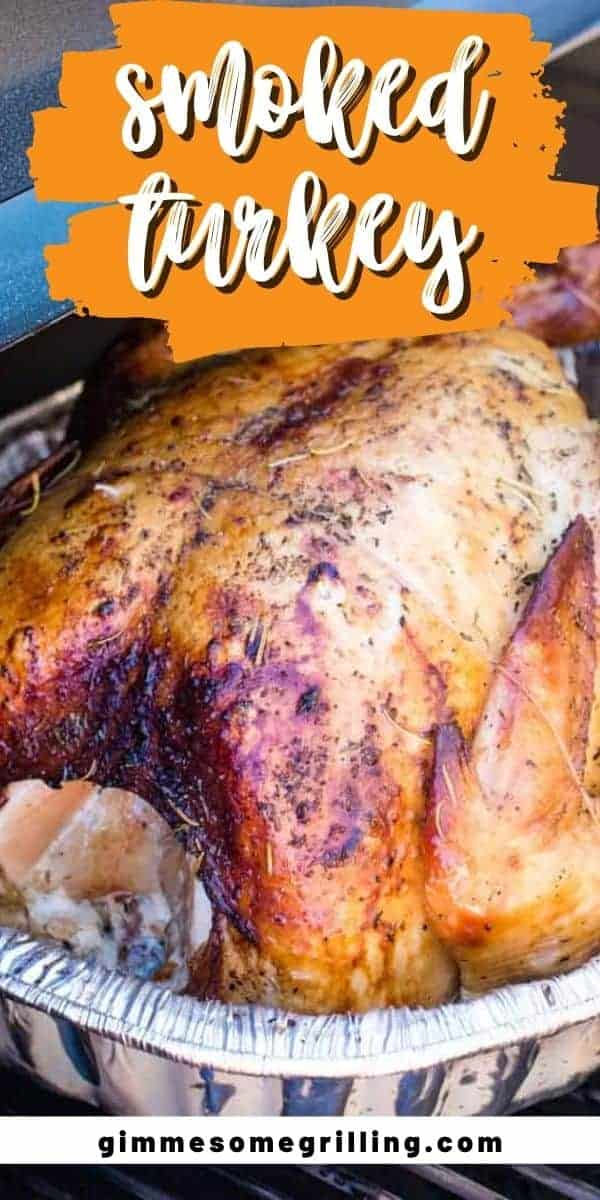 Smoked Turkey is an easy way to make a turkey for the holidays. It's juicy, tender, perfect seasoned with a hint of smoke flavor. It starts with a brine and then is smoked on your electric smoker.  via @gimmesomegrilling