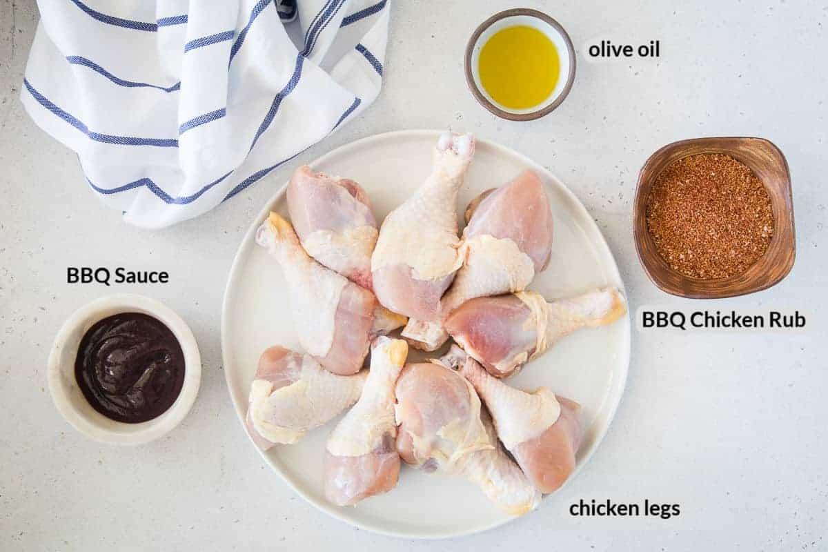Smoked Chicken Legs Ingredients