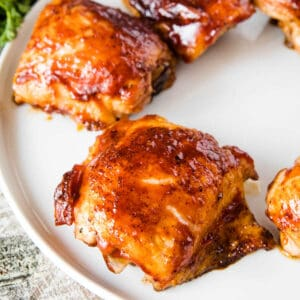 Smoked Chicken Thighs Square Cropped Image